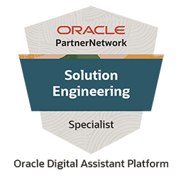ODA Solution Engineering Specilialist Badge